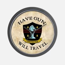 Have Gun Wall Clock