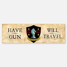 Have Gun Bumper Bumper Sticker