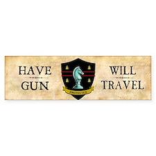 Have Gun Bumper Sticker