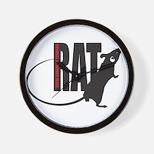 Cute Rats Wall Clock