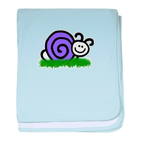 Sam the Snail baby blanket