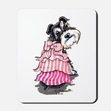 Girly Schnauzer Mousepad