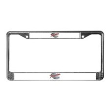 Video production License Plate Frame