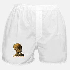 Van Gogh Skull Boxer Shorts