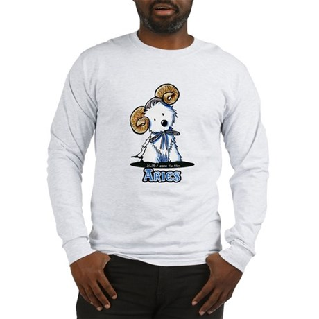Aries Westie Long Sleeve T-Shirt