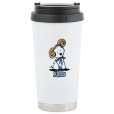 Aries Westie Travel Mug
