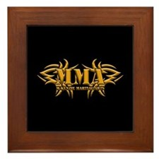 MMA Logo - Gold Framed Tile