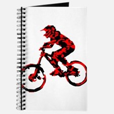 Cute Black mountain bike Journal