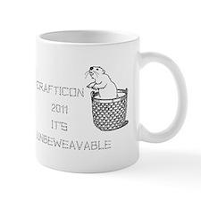 Cute Crafty beaver Mug