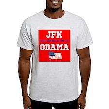 JFK as hot as OBAMA T-Shirt