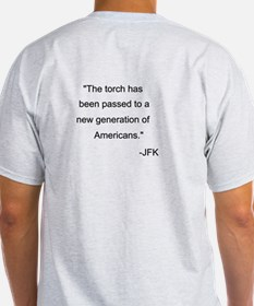 JFK quote Front/Back T-Shirt