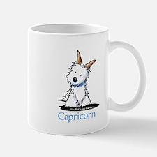 Capricorn Westie Mug