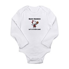March Madness UMD Long Sleeve Infant Bodysuit