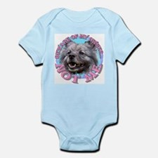 Keeshond Infant Creeper