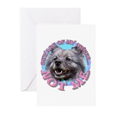 Keeshond Greeting Cards (Pk of 10)