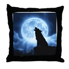 Cries of the Night Throw Pillow