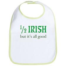 Half Irish All Good Bib