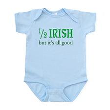 Half Irish All Good Infant Bodysuit