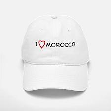 I Love Morocco Baseball Baseball Cap