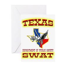Texas DPS SWAT Greeting Card