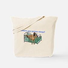 CBrNFNMtMrl Where sleep Tote Bag