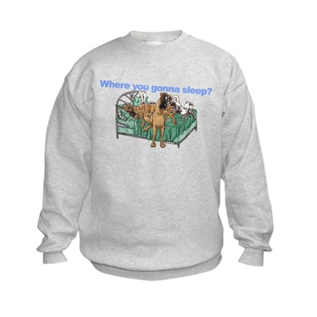 CBrNFNMtMrl Where sleep Kids Sweatshirt