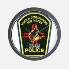 Truth or Consequences PD K9 Wall Clock