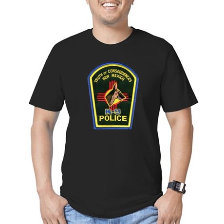 Truth or Consequences PD K9 Men's Fitted T-Shirt (