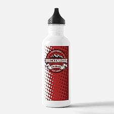 Breckenridge Red Water Bottle