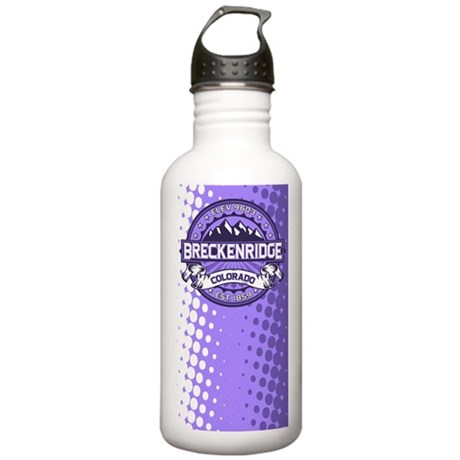 Breckenridge Purple Stainless Water Bottle 1.0L