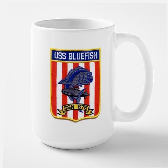 USS BLUEFISH Large Mug