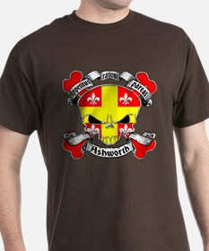 Ashworth Family Crest Skull T-Shirt