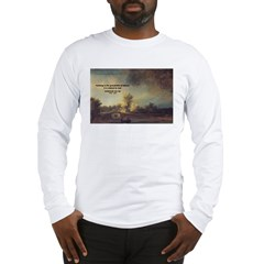 Rembrandt: on God & Painting Long Sleeve T-Shirt