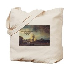 Rembrandt: on God & Painting Tote Bag