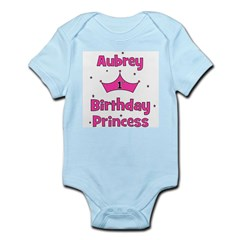 1st Birthday Princess Aubrey! Infant Bodysuit