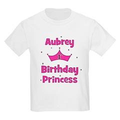 1st Birthday Princess Aubrey! T-Shirt