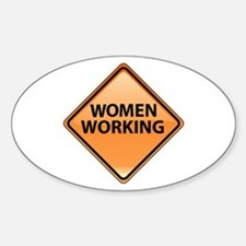 Women Working Decal