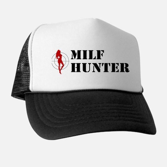 Funny Milf Hunter Trucker Hat
