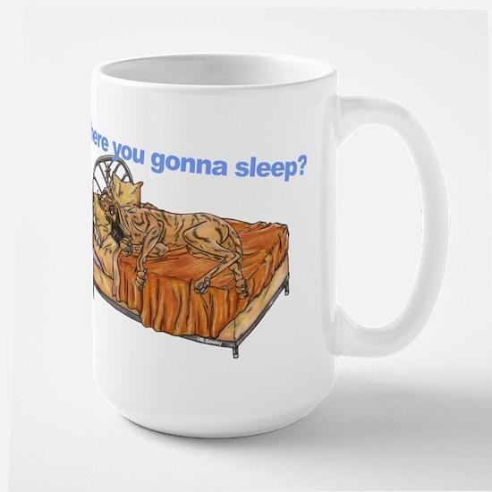 CBr Where you gonna sleep Large Mug