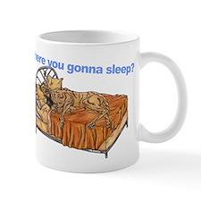 CBr Where you gonna sleep Mug