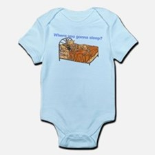 CBr Where you gonna sleep Infant Bodysuit