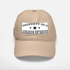 Property of Lab Baseball Baseball Cap