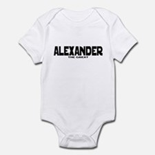 Alexander the Great Infant Bodysuit