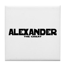 Alexander the Great Tile Coaster