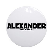 Alexander the Great Ornament (Round)