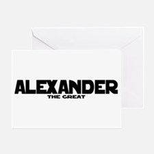 Alexander the Great Greeting Card