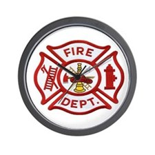 MALTESE CROSS FD Wall Clock