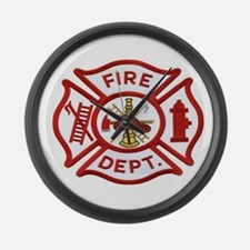 MALTESE CROSS FD Large Wall Clock