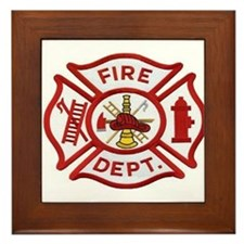 MALTESE CROSS FD Framed Tile