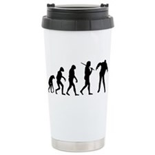 The Evolution Of Zombies Travel Mug